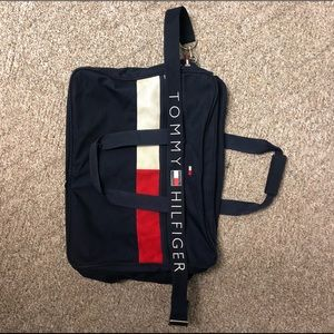 Vintage Tommy Hilfiger Spell Out Duffel Bag